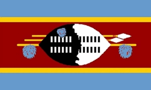 Image of   Swaziland Flag (90x150cm)