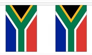 Image of   Sydafrika Guirlander 9m (30 flag)