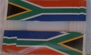 Image of   Sydafrika Kageflag (30x48mm)