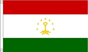 Image of   Tadsjikistan Flag (90x150cm)