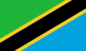 Billede af Tanzania Flag (90x150cm)