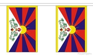 Image of   Tibet Guirlander 3m (10 flag)