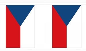 Image of   Tjekkiet Guirlander 3m (10 flag)