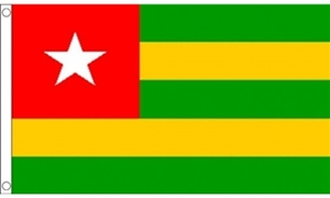 Image of   Togo Flag (90x150cm)