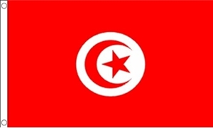 Image of   Tunesien Flag (90x150cm)