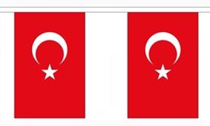 Image of   Tyrkiet Guirlander 3m (10 flag)