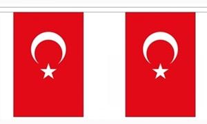 Image of   Tyrkiet Guirlander 9m (30 flag)