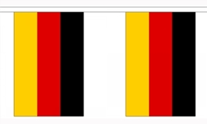 Image of   Tyskland Guirlander 3m (10 flag)