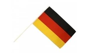 Image of   Tyskland Håndholdt Papirflag (20x27cm)