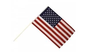 Image of   USA Håndholdt Papirflag (20x27cm)