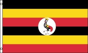 Image of   Uganda Flag (90x150cm)