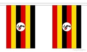 Image of   Uganda Guirlander 3m (10 flag)