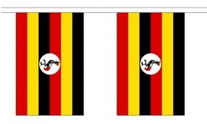 Image of   Uganda Guirlander 9m (30 flag)