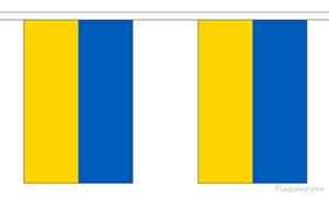 Image of   Ukraine Guirlander 9m (30 flag)