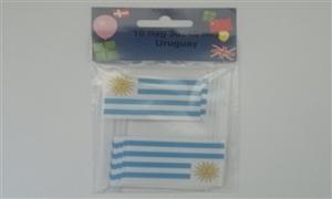 Image of   Uruguay Kageflag (30x48mm)