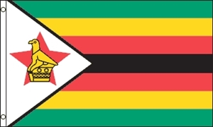 Image of   Zimbabwe Flag (90x150cm)