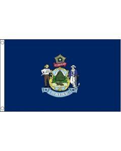 Maine Flag (90x150cm)