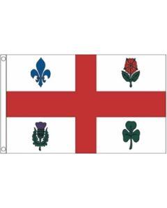 Montreal Flag (90x150cm)