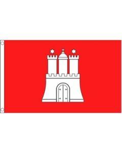 Hamburg Flag (90x150cm)