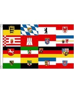 German Federal States Flag (90x150cm)