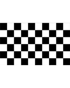 Black and White Check Flag (90x150cm)