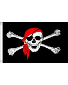 Pirate Bandana Flag (150x240cm)