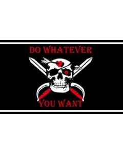 Do Whatever You Want Flag (90x150cm)