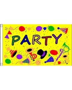 Party Time Yellow (90x150cm)