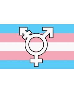 Transgender New Symbol Flag (90x150cm)