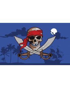 Pirate Night Sky Flag (90x150cm)