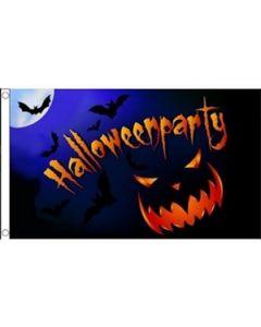 Halloween Party Pumpkin Flag (90x150cm)