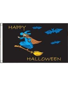 Halloween Witch Flag (90x150cm)
