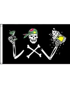 Pirate Beer Flag (90x150cm)