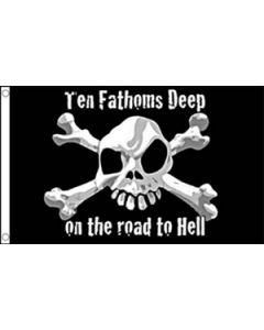 Ten Fathoms Deep Flag (90x150cm)