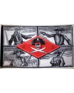 Skulls - Pirat Flag (90x150cm)