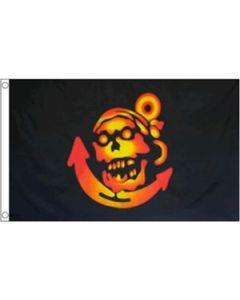 Pirate Anchor Flag (90x150cm)