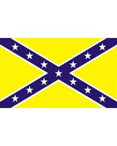 Confederate Yellow Flag (90x150cm)