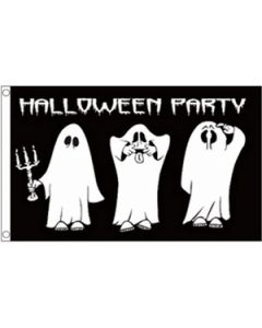 Halloween Party Flag (90x150cm)