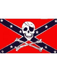 Rebel Pirate - Pirat Flag (90x150cm)