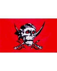 Red Skull - Pirat Flag (90x150cm)