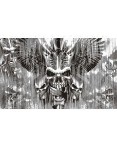 Skull with Sword Flag (90x150cm)