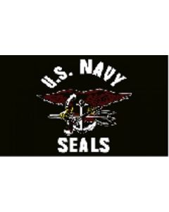 US Navy Seals Flag (90x150cm)
