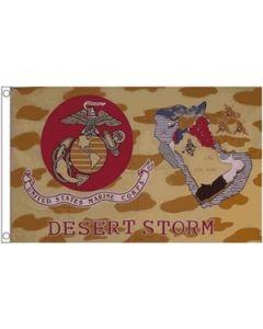 Desert Storm USMC Flag (90x150cm)