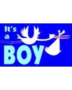 Its a Boy Flag (90x150cm)