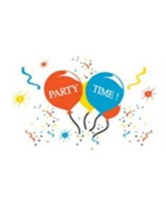 Party Time Flag (90x150cm)