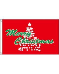 Christmas Tree Flag (90x150cm)
