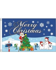 Christmas North Pole Flag (90x150cm)