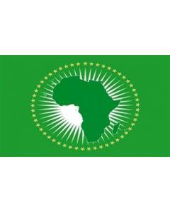 Afrikanske Union Premium Flag (150x240cm)