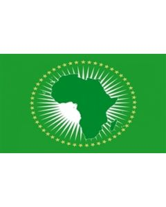 Afrikanske Union Premium Flag (180x300cm)