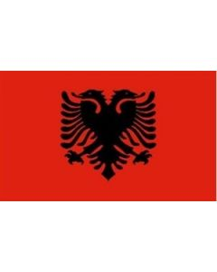Albanien Premium Flag (60x90cm)